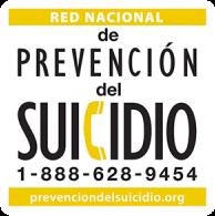 Red Nacional de Prención del Suicidio 1-888-628-9454